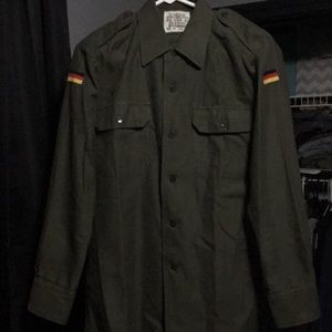 Other - German army button down